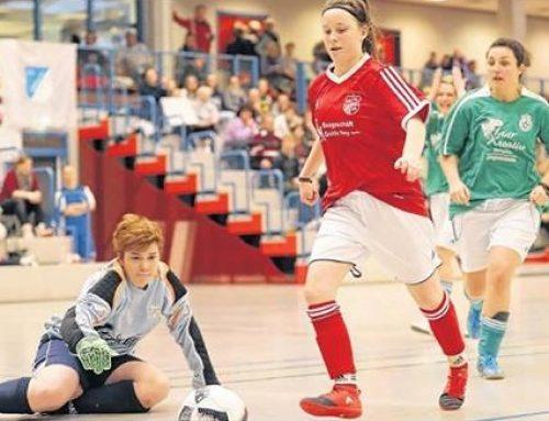 Pressebericht zur 1. Hallenkreismeisterschaft (Frauen)